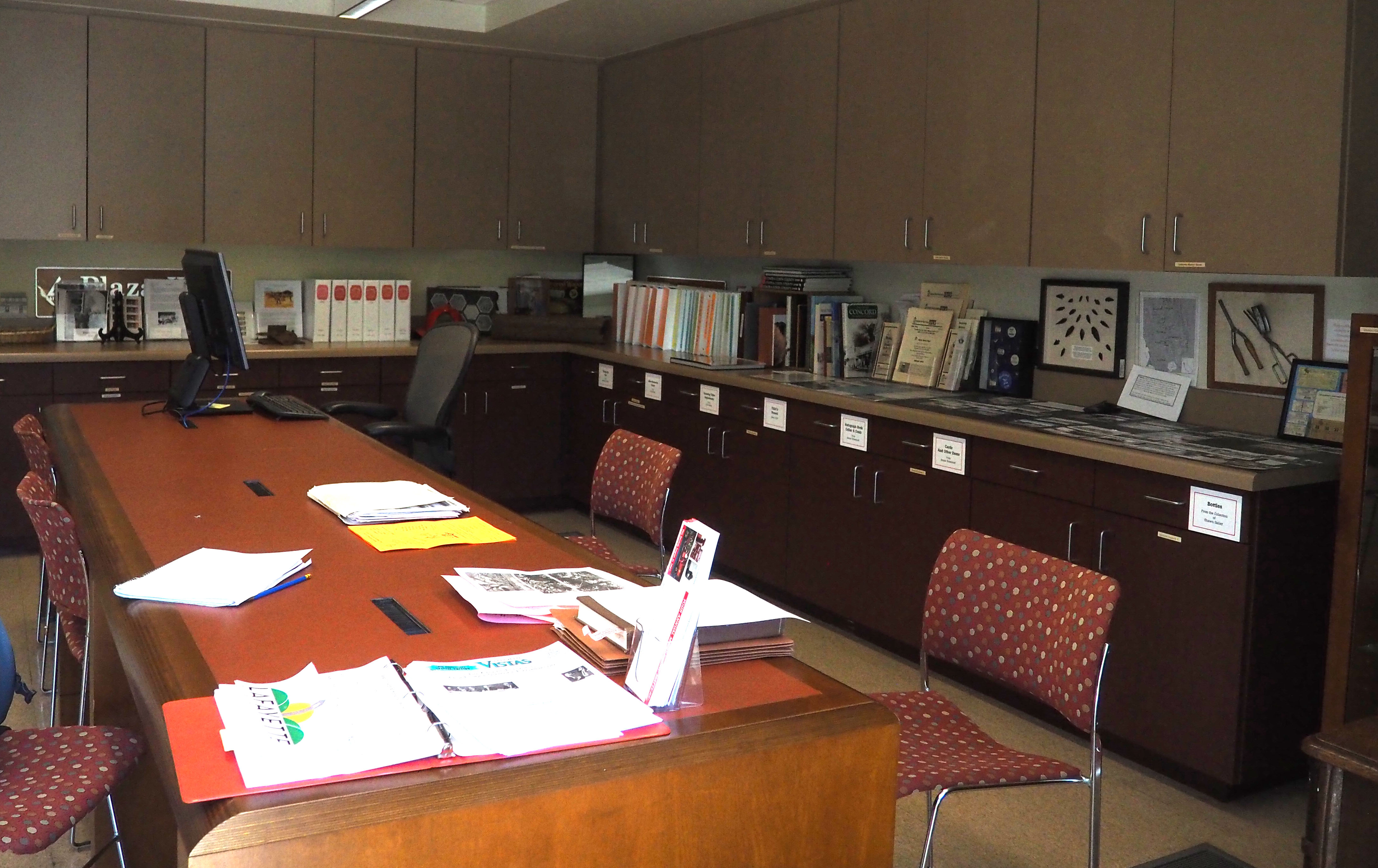 LHS Work Area and Books